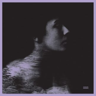 "Cover of the The Tidal Sleep ""Four Song"" EP showing a grey colored side portrait of a person fading into the black background."
