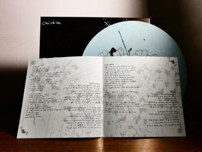 """Photo of the opened Chivàla """"II"""" EP Booklet"""